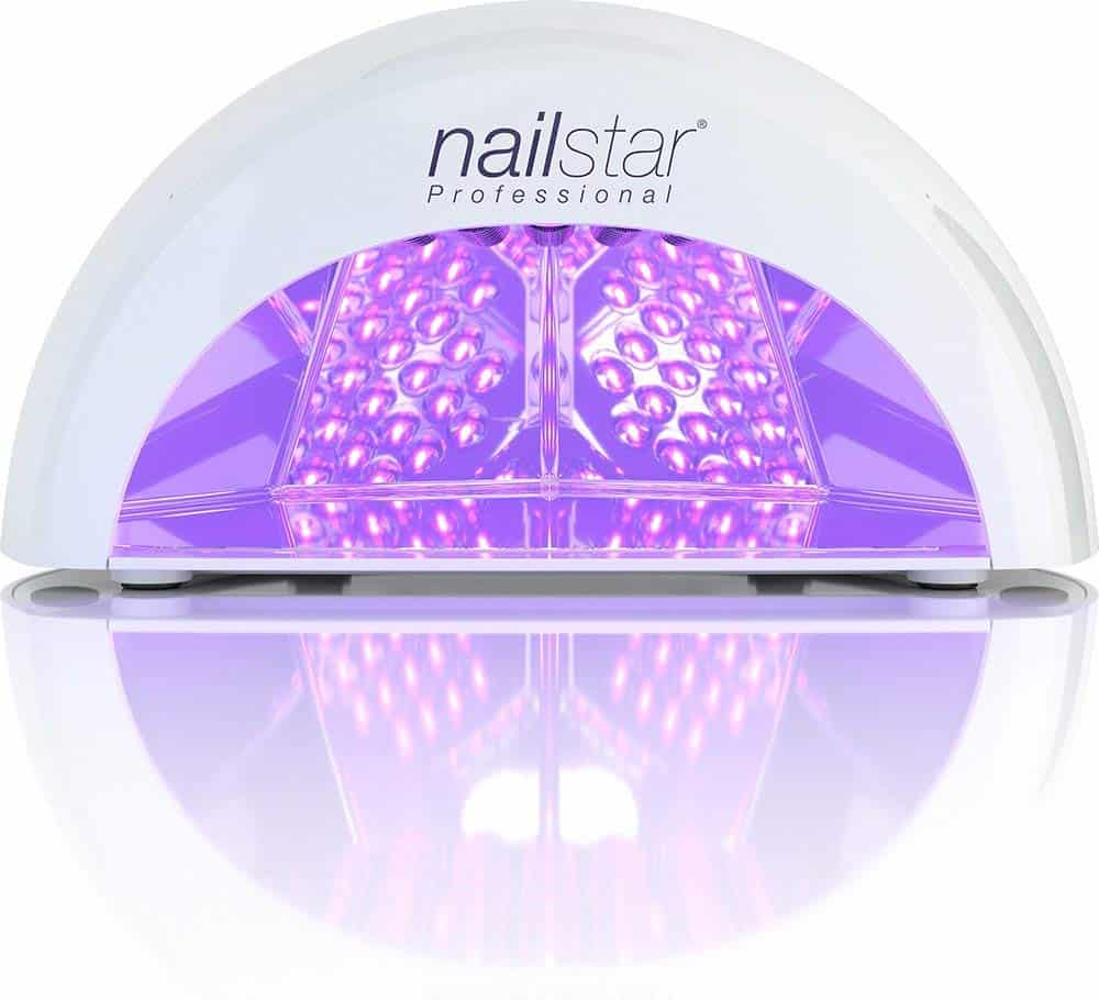 Nailstar lámpara led uv profesional blanca